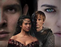 Merlin Landscape Arthur's Bane Poster