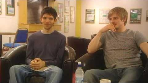 Bradley James & Colin Morgan - The Real Merlin and Arthur 2 3