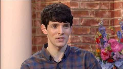 Colin Morgan on 'This Morning'