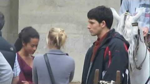Pierrefonds (sept 2012) Colin filming