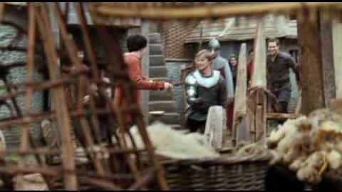Merlin and Arthur - Second contact - How long have you been trained to be a prat?