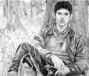 Merlin5 my drawing