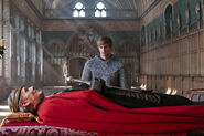 Uther lying in state