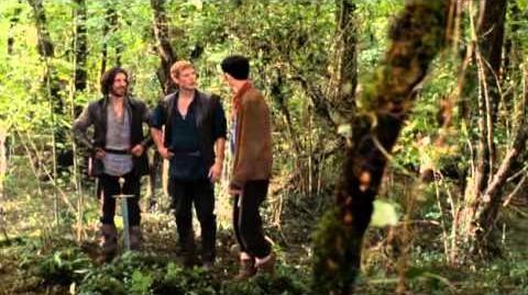 Merlin - Gwaine and Arthur - Rivals