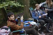 Colin Morgan and Bradley James Behind The Scenes Series 2-2