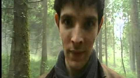 Merlin - BBC breakfast goes behind the scenes of series 4 and interview with the Knights!