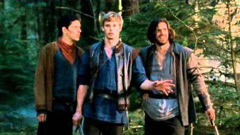 Merlin - Arthur and the Cup of Life or After the gathering comes the scattering