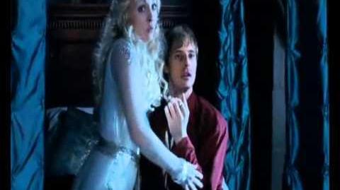 Arthur and Lady Vivian - The Kiss