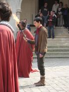 Colin Morgan Behind The Scenes Series 4-1