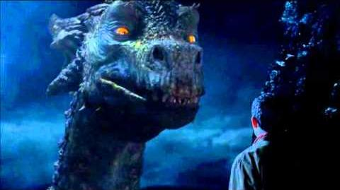 "Merlin 5x01 ""Arthur's Bane - part 1"" Merlin and the Great Dragon"