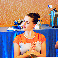 Katie McGrath Comic Con 2012-2