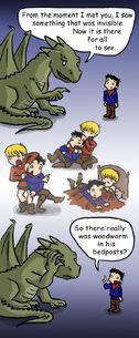 The slash dragon rides again by blackbirdrose-d4dowf9