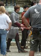 Bradley James and Colin Morgan Behind The Scenes Series 5