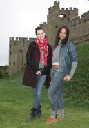 Katie McGrath and Angel Coulby-7