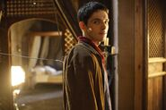 Colin Morgan Behind The Scenes
