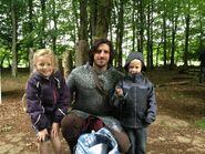 Eoin Macken and Fans Behind The Scenes Series 5