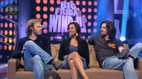 Merlin S4 Angel, Eoin & Rupert @ Big Friday Windup Colin & Katie clip mild spoilers