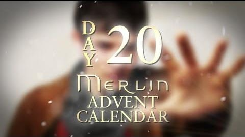 Which spell would Katie McGrath want Merlin to cast for her? Day 20 Merlin Advent Calendar