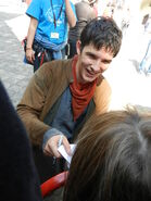 Colin Morgan Behind The Scenes Series 5-16