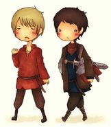Merlin+arthur8484fanart