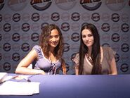 Angel Coulby and Katie McGrath-5
