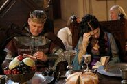 Anthony Head and Katie McGrath Behind The Scenes