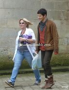 Colin Morgan Behind The Scenes Series 5-9