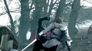 Arthur hits ruadan