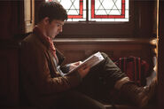 Colin Morgan Behind The Scenes Series 5-21