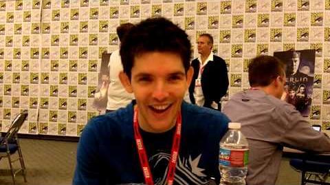 Merlin Colin Morgan Interview -- San Diego Comic-Con 2010-0