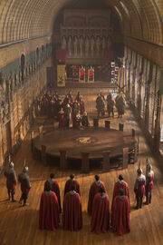 Sarrum at the round table