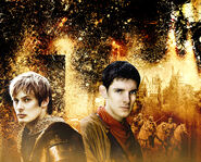 Series 4 promo MerlinArthur