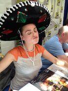 Katie McGrath Comic Con 2012
