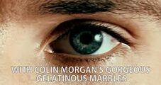 Merlin's eyes
