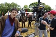 Colin Morgan Behind The Scenes Series 2-4
