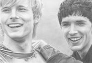 Merlin and arthur by cybergirl05-d2zow1f