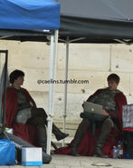 Alexander Vlahos and Bradley James Behind The Scenes Series 5-1