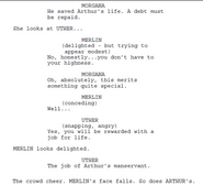 Merlin Series 1 Episode 1 Script Origional Version