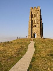 220px-Summit of glastonbury tor