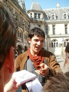 Colin Morgan Behind The Scenes Series 5-15