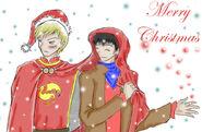 Merlin Christmas by Fengtianshi