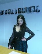 Katie McGrath Behind The Scenes Series 4-3