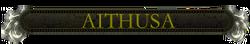 Aithusa nameplate