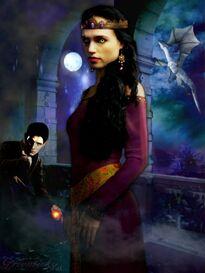 Morgana x merlin season 5 by greenticky-d4l33yo