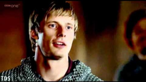 "Merlin Merlin&Arthur - ""You Make Me Smile Like The Sun"" For Fleur-1"