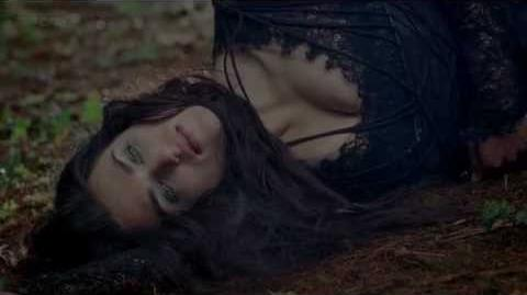 Merlin - Aithusa saves Morgana 4x13