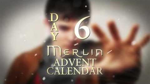 Angel Coulby shares a secret about Bradley James Day 6 Merlin Advent Calendar