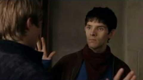 Camelot finally finds out Merlin is Gay...