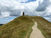 220px-Glastonbury tor (the final climb) arp