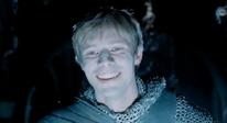 Arthur laughing